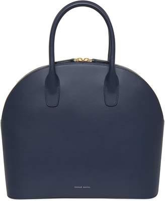Mansur Gavriel Calf Top Handle Rounded Bag - Blu