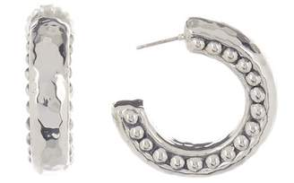 Simon Sebbag Hammered 31mm Hoop Earrings