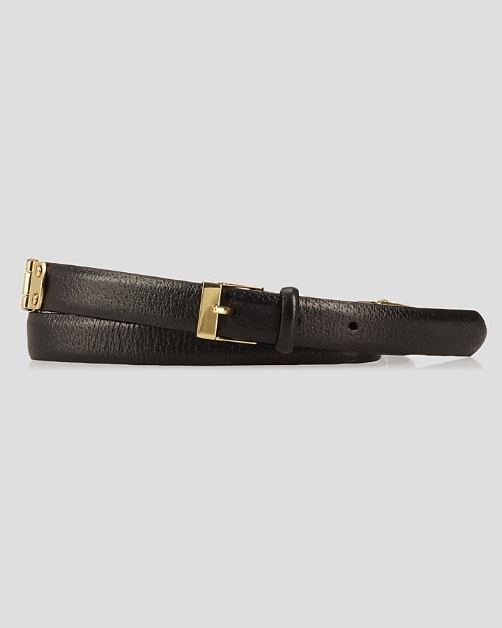 Lauren Ralph Lauren Belt - Hinge with Endbar Buckle