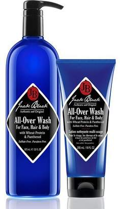 Jack Black All-Over Wash for Face, Hair & Body, 33oz