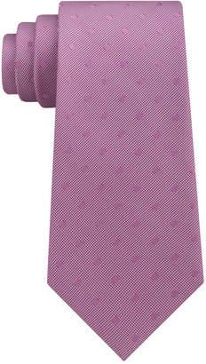Calvin Klein Men's Dot Silk Tie