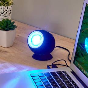 Leuchtender Lautsprecher Ball mit LED-Licht