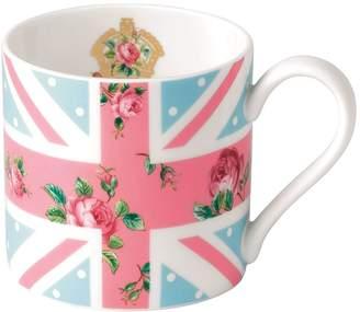 Royal Albert Cheeky Pink Union Jack Mug