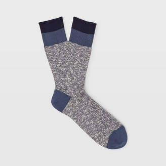 Club Monaco Marl Blocked Sock