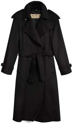 Burberry Eastheath Cashmere Trench Coat