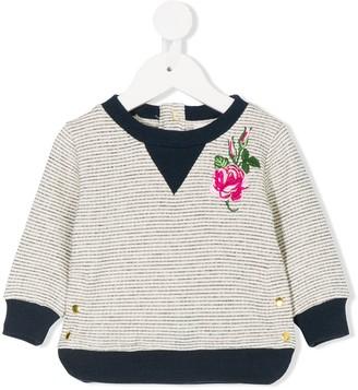 Simple Rose sailor blouse