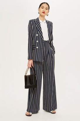 Topshop Striped Jacket