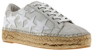 Marc Fisher Star Leather Sneakers
