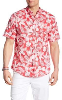 Trunks Surf and Swim CO. Tropical Print Shirt