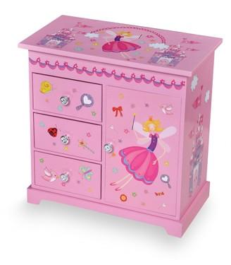 Mele Wood Musical Ballerina Jewelry Box