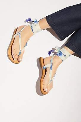 Z & L Champagne Beach Sandal