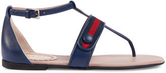 Children's leather sandal with Web $370 thestylecure.com
