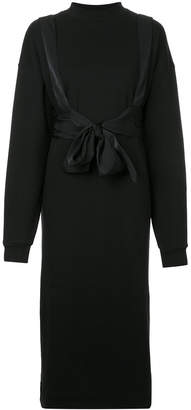 G.V.G.V. belted sweatshirt dress
