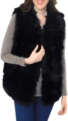 Elietian Faux Fur Vest
