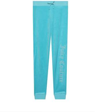 Juicy Couture Velour Gothic Studs Juicy Zuma Pant for Girls