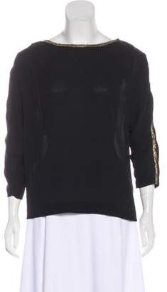 3.1 Phillip Lim Silk Embellished Blouse
