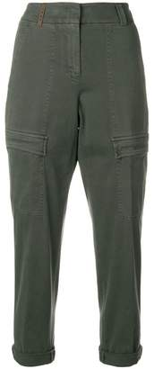 Peserico cropped cargo trousers