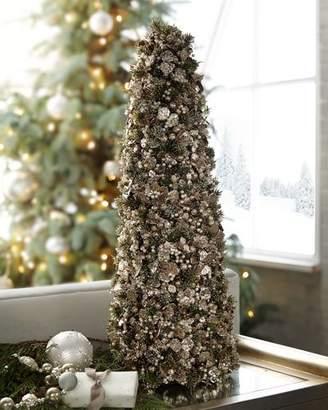 "Salzburg Creations Vintage Classic Tabletop Christmas Tree - 24"""