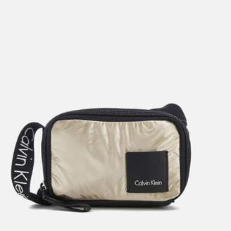 Calvin Klein Women's Fluid Small Cross Body Bag - Light Gold
