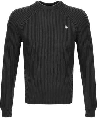 Jack Wills Hammond Knit Crew Jumper Grey