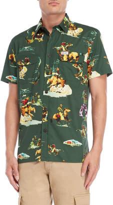Franklin & Marshall Rodeo Print Pocket Shirt