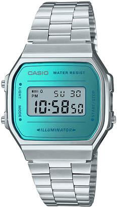 G-Shock Men's Digital Stainless Steel Bracelet Watch 36.3mm