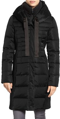Women's Tahari Quinn Down & Feather Coat $300 thestylecure.com