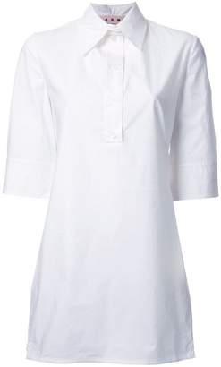 Marni fluted poplin shirt