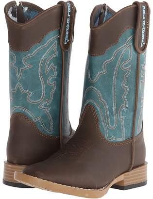 M&F Western Kids Open Range Zip Cowboy Boots