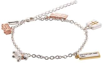 Harrods Silver And Gold Plated Charm Bracelet