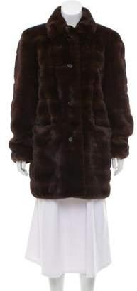 Michael Kors Mink Fur Short Coat