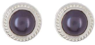 Anna Beck Sterling Silver Blue Pearl Studs