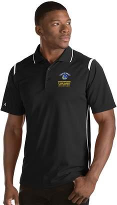 Antigua Men's Golden State Warriors 2018 NBA Finals Champions Merit Polo