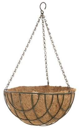 Darice Spring Hanging Wire Basket with Coco Liner: 12 inches