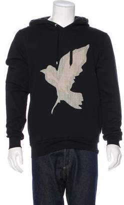 Christian Dior Embroidered Graphic Sweatshirt w/ Tags