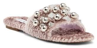 Steve Madden Nauder Faux Fur Sandal