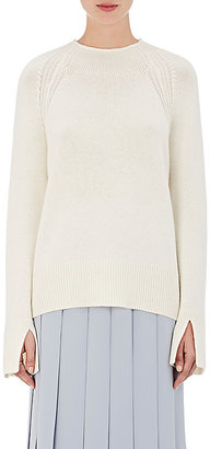 Theory Women's Karinella Cashmere Sweater-Nude $425 thestylecure.com
