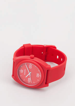 Nixon Red Time Teller P Corp Watch | Wildfang - Time Teller P Corp Watch - RED - OS