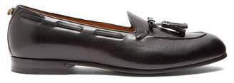 Gucci Leather Tassel Loafers - Mens - Black