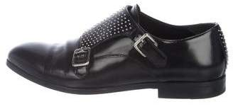 Alexander McQueen Studded Monk-Strap Shoes