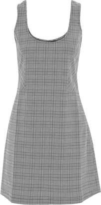 Walter W118 By Baker Elvira Checked Woven Mini Dress