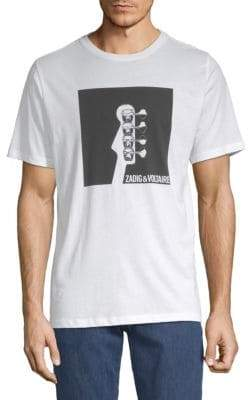 Zadig & Voltaire Tommy Guitar Cotton Tee