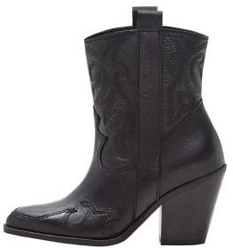 Violeta BY MANGO ANKLE BOOTS M--