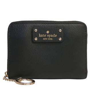 Kate Spade new york Grove Street Dani Leather Zip Around Wallet Key Chain Ring