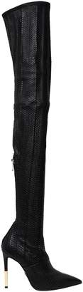 Balmain 115mm Amazone Water Snake Boots
