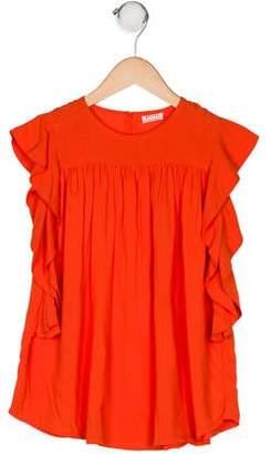 Morley Girls' Ruffle Dress
