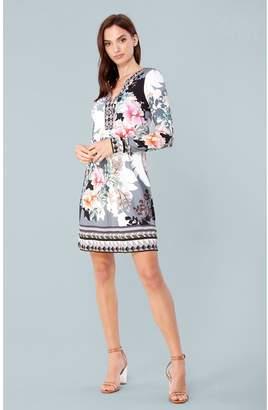 Hale Bob Magda Jersey Dress Beaded