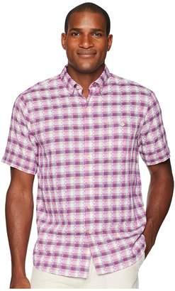 Tommy Bahama La Veleta Check Camp Shirt Men's Clothing