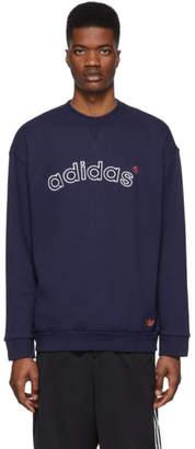 adidas Navy Archive Sweatshirt