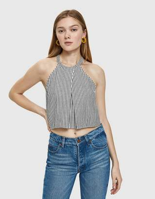 Cornelia Farrow Folded Crop Top